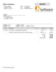 Medical Invoice Format In Word  Invoice    Invoice