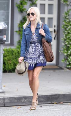 Reese Witherspoon sports a trendy denim jacket while arriving at Lancerx Dermatology on Saturday (July 19) in Beverly Hills, Calif. Description from pinterest.com. I searched for this on bing.com/images