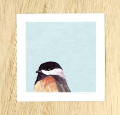 Too Often Guilty Of Yielding To Suggestibility 5 x 5 Art Print – The Mincing Mockingbird & The Frantic Meerkat