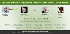 Ladies: Join us to Learn About Financing For Your Business