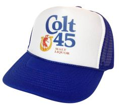 Colt 45 Beer Trucker Hat - 2014 New Arrivals Trucker Hats and Hats