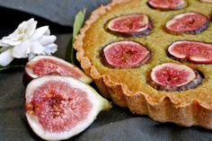 Pistachio & Fig Frangipane Tart