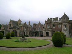 Abbotsford, Nr. Melrose, Scotland.  Home of Sir Walter Scott.