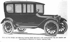 1915 Dodge Touring