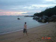 Praia da Lagoa na Costeira de Zimbros