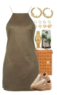 """""""Untitled #1554"""" by power-beauty ❤ liked on Polyvore featuring Rolex, MCM, ASOS, Topshop and Puma"""