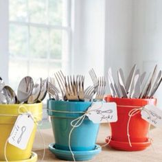 Cutlery..great for outdoor BBQs