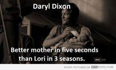 Fun fact about Daryl Dixon #TheWalkingDaughter