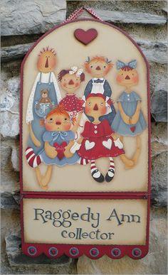 Raggedy Ann collector sign