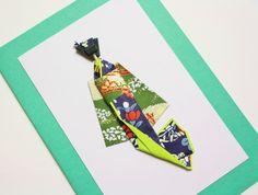 Shinju Washi Ningyo (Japanese Paper Doll) Note Greeting Card  Washi paper cards - re-Pinned by HankoDesigns.Com