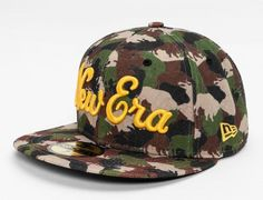 3b9d1c11902 NEW ERA「Buffalo Camo」59Fifty Fitted Baseball Cap Fitted Baseball Caps