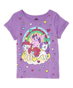 Another great find on #zulily! Tropical Purple My Little Pony Tee - Infant, Toddler & Girls #zulilyfinds