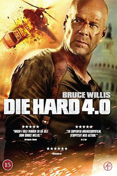 Die Hard 4.0 (2007) Bruce Willis, Timothy Olyphant, Maggie Q, Kevin Smith. 27/09/2008