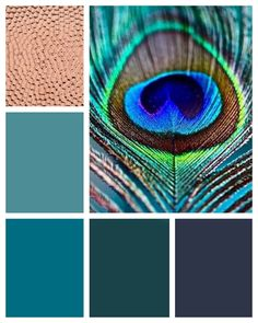 The color palette will include navy, sea green, teal, turquoise and copper.
