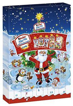 Kinder Mini Mix Adventskalender, 1er Pack (1 x 152 g) Kinder