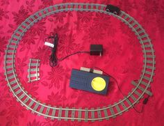 Lego 9V Train Car Speed Regulator Track Contact AC Transformer Curve Straight #LEGO