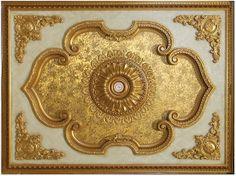 Decorative Gilded Ceilings - http://artisticafineartstudio.com/gilded-ceilings/