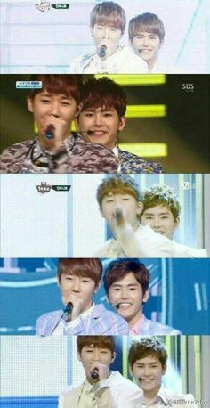 ㅋㅋㅋ The face Hoya Oppa makes