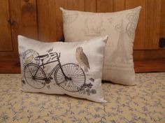 Set of 2 Cushions 1 with unique design print Your by Maisonvogue, $27.00