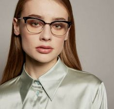 Satin Shirt, Satin Blouses, Silk, Glasses, Pretty, Fashion, Eyeglasses, Woman, Nice Asses
