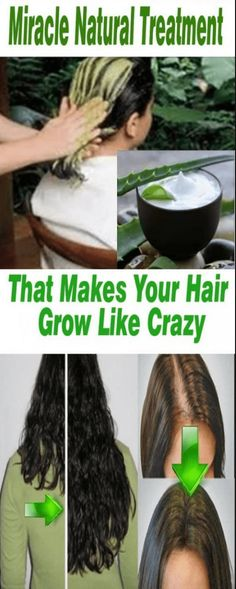 MIRACLE NATURAL TREATMENT THAT MAKES YOUR HAIR GROW LIKE CRAZY (Get long and strong hair in not time) – Toned Chick