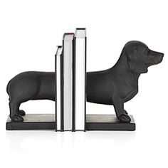 #Dachshund bookends