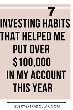 7 key investing habits to help you attain financial freedom Become A Millionaire, Money Quotes, Investing Money, Debt Payoff, Help Me, Personal Finance, Accounting, How To Become, Freedom