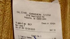 Muslim Family Eats at Olive Garden in the SOUTH, What's on Their Bill is Going VIRAL