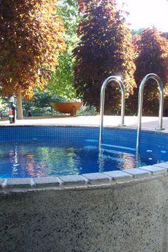 Custom Plunge Pools & Spa's - Australian Plunge Pools Garden Pool, Water Garden, Natural Swimming Pools, Natural Pools, Round Pool, My Pool, Small Pools, Plunge Pool, Cool Pools