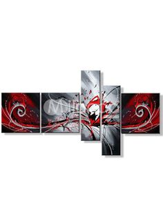 Beautiful! If I have a red and black living room I am so buying this!