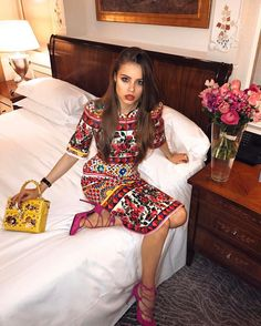 Xenia Tchoumitcheva - Today is a big day for the digital influencers' community! I'm working in Barcelona but mentally in Milan with so many influencers and friends who are now walking the @dolcegabbana show. Thanks to @stefanogabbana & #domenicodolce for believing in our work. Here wearing a total #dolcegabbana outfit #DGrinascimento #influencerspower Instagram: https://www.instagram.com/p/BQ-rcdVAWxE/ Vk: https://vk.com/club131845230 Facebook…