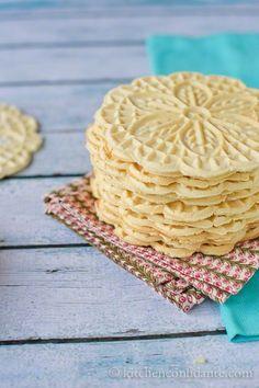 Pizzelle | Italian Waffle Cookies - Kitchen Confidante