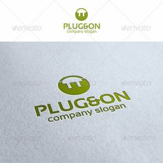 Plug Logo — Vector EPS #system #entertainment • Available here → https://graphicriver.net/item/plug-logo/3007175?ref=pxcr