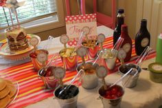 Pajamas and Pancakes Birthday Party Ideas | Photo 50 of 53 | Catch My Party