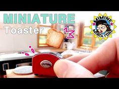 ▶ 미니어쳐 토스트기 ( 식빵이 뿅! ) miniature - Toaster - YouTube