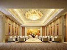 Luxury VIP reception interior design