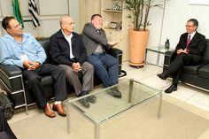 CCM Iamspe se reúne com Davi Zaia e discute Conselho de Administração do Iamspe