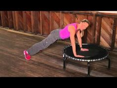 Trampoline Exercises Top 3: Arms, Abs, & Cardio