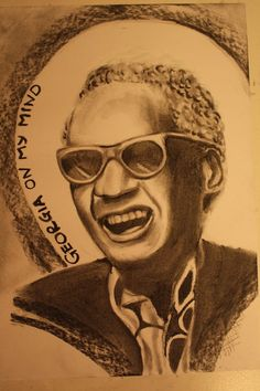 Ray Charles - Charcoal Drawing by ~CaptainBoss on deviantART
