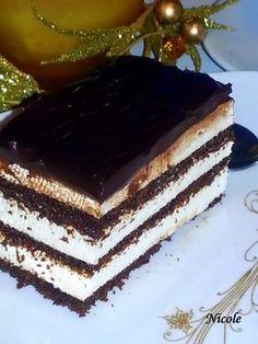 PRĂJITURA ''PINGUIN'' Romanian Food, Tiramisu, Cheesecake, Food And Drink, Sweets, Cookies, Ethnic Recipes, Drinks, Kitchen