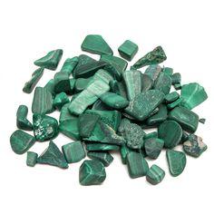Sale 21% (8.99$) - 100g Malachite Stones Polished Body Healing DIY Design Jewelry Accessories