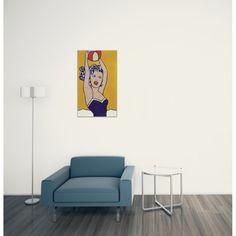 LICHTENSTEIN - Girl with ball 60x100 cm #artprints #interior #design #art #print #iloveart #followart #artist #fineart #artwit  Scopri Descrizione e Prezzo http://www.artopweb.com/autori/roy-lichtenstein/EC21685