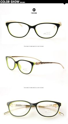 9d38e93b580 New Design Leopard Head Plain Eye glass Men Women Optical Make Myopia  Eyeglasses Frame oculos de grau femininos A0028-in Eyewear Frames from  Men s Clothing ...