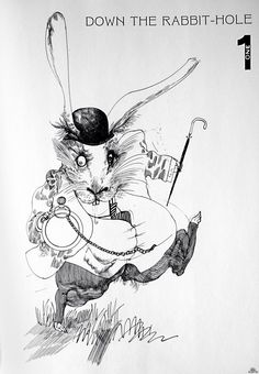 Alice in Wonderland- Ralph Steadman