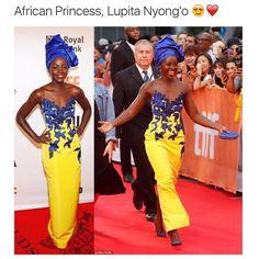 AfrOur girl++ princess Lupita See this Instagram