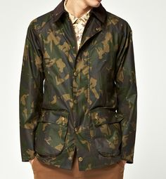 05bef221bc6c Barbour Bourne in camo. Camo Fashion