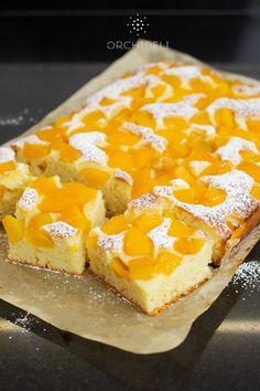 Polish Cheesecake Recipe, Polish Cake Recipe, Lemon Cheesecake Recipes, Chocolate Cheesecake Recipes, Polish Recipes, Cookie Desserts, Sweet Desserts, Dessert Recipes, Fruit Cake Watermelon