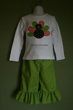Personalized Thanksgiving Turkey Shirt/Ruffle by myredladybug, $36.00