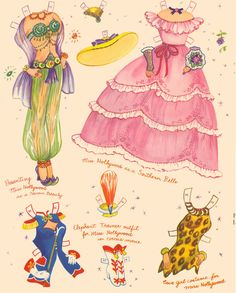 Movie Starlets* 1500 free paper dolls for small Christmas gits and DIY for Pinterest pals The International Paper Doll Society Arielle Gabriel artist ArtrA Linked In QuanYin5 *