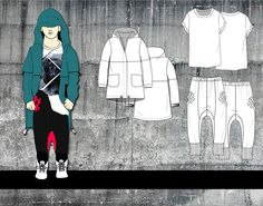Advanced Fashion Sketching: Children's Collection on Behance